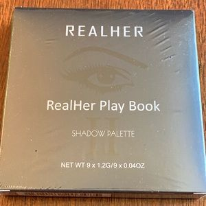 Realher Eye Shadow Palette RealHer Play Book NEW